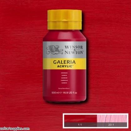 Galeria 500ml Crimson