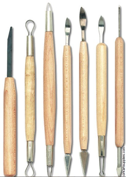 Modelling Fine Tools 7pk