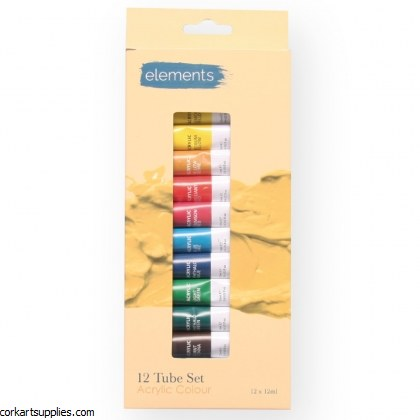 Elements Acrylic 12ml 12pk