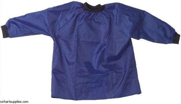 Apron Child Nylon Blue 4-6 yrs