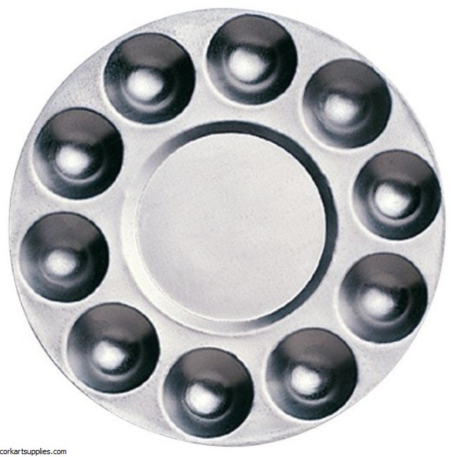 Palette Aluminium Round Ø17cm