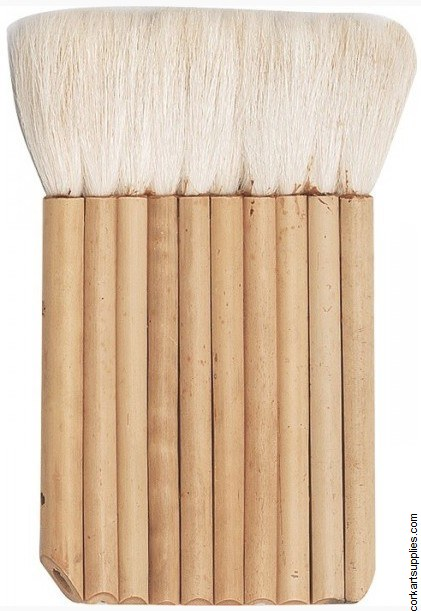 Bamboo Brush Hake Glued No.8