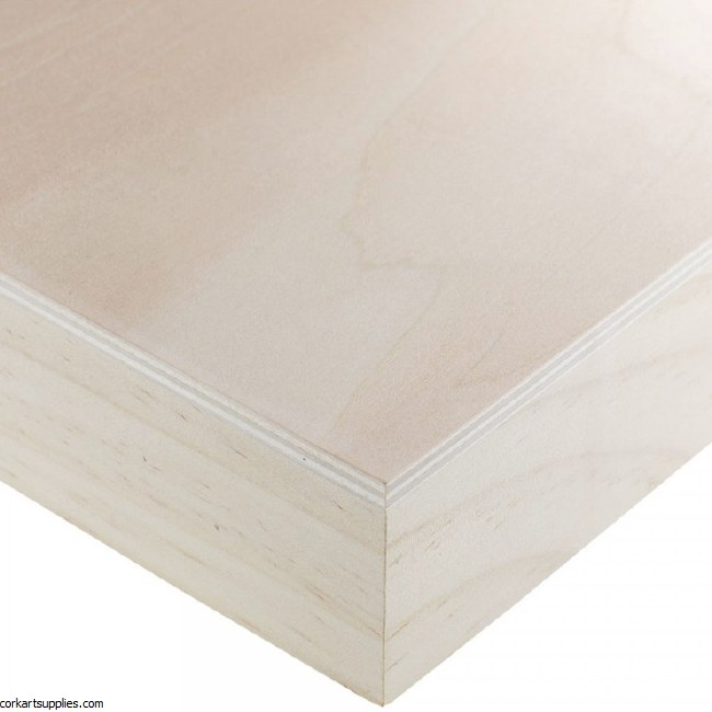 Wood Painting Panel 30x30x6cm