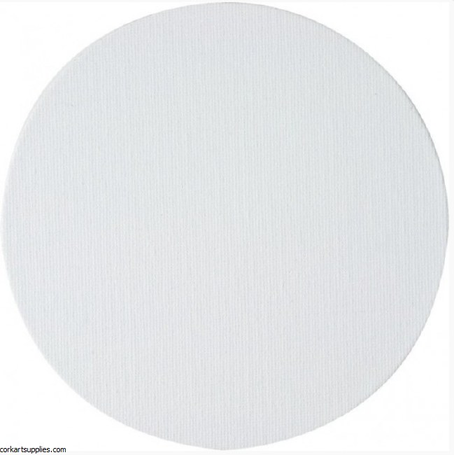 Canvas Panel 3mm Round 10cm