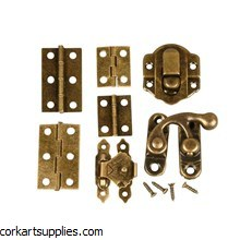 Mini Hinges/Fittings 45pk