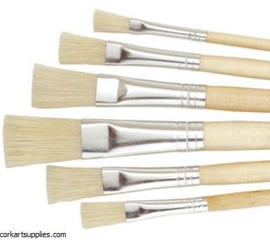 Brushes Kids Mix short handled Flat 5pk