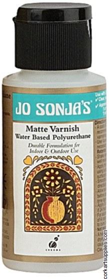 Jo Sonjas Varnish 60ml Mat