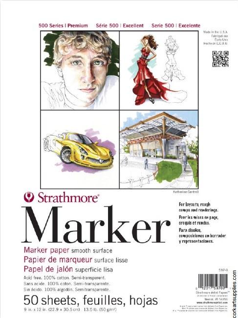 Strathmore Marker 9x12 S500