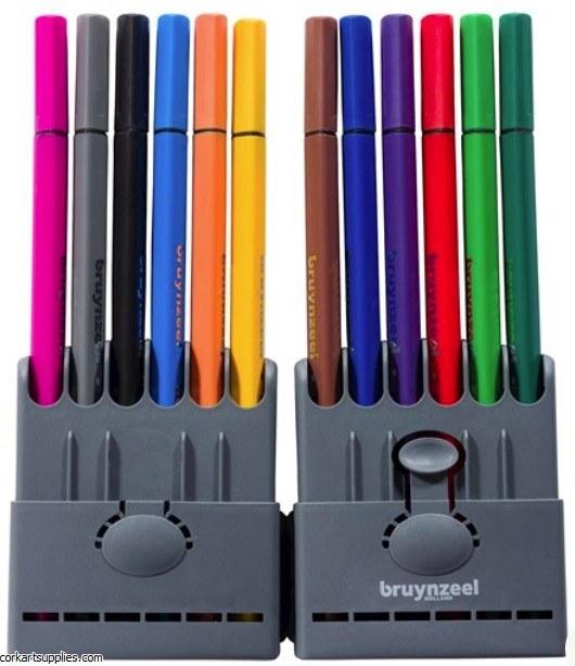 Bruynzeel Fineliner 0.4mm 12pk