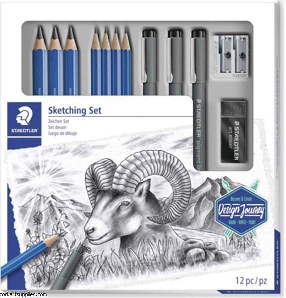 Staedtler Sketching Set 12pk
