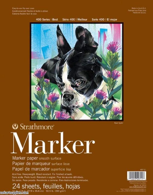 "Strathmore Marker 11x14"" 190g 24 Sheets"