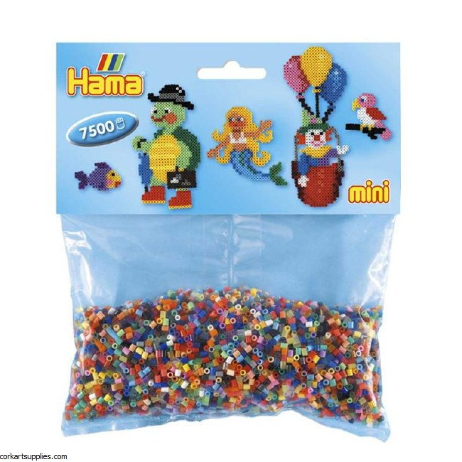 Hama Beads 2.5mm Mini 7500pk