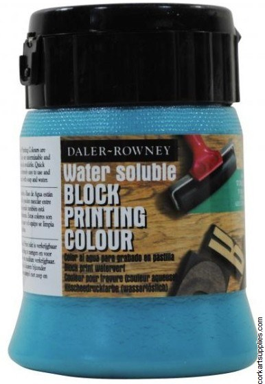 Block Printing Ink 250ml Daler Tuquoise