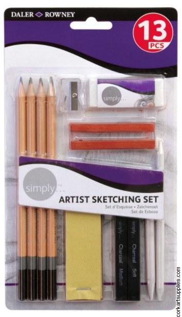 Simply Sketch Set 13pk*