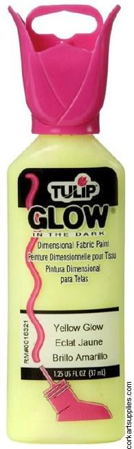 Tulip 3D Glow Yellow
