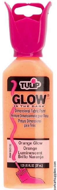 Tulip 3D Glow Orange Glow