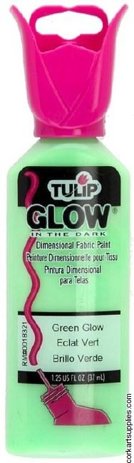 Tulip 3D Glow Green Glow