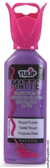 Tulip 3D Matte Royal Purple