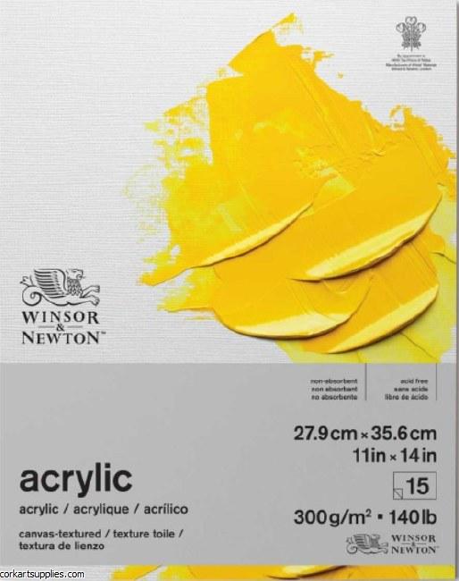 W&N Acrylic Pad 300gm 7x10