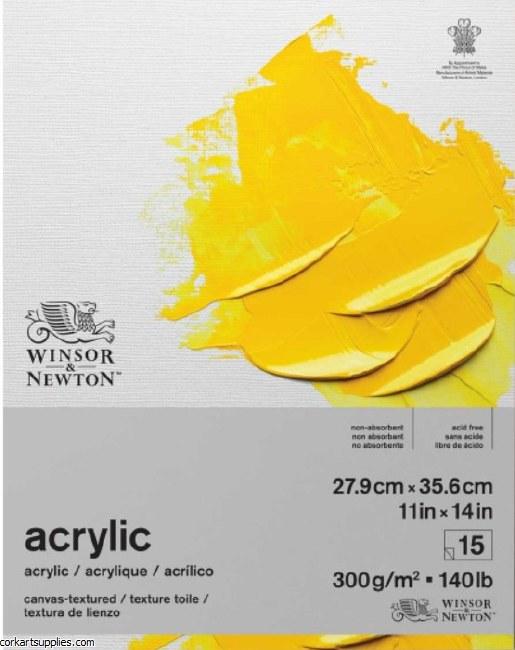 W&N Acrylic Pad 300gm 14x11