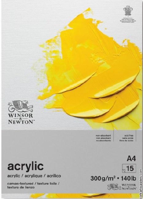 W&N Acrylic Pad 300gm A4
