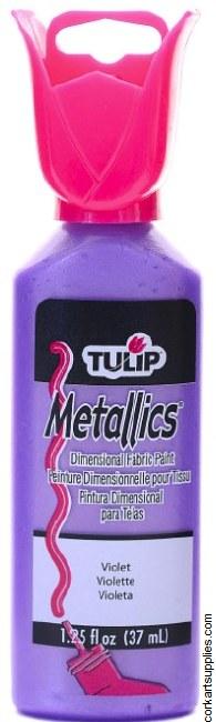 Tulip 3D Metallic Violet