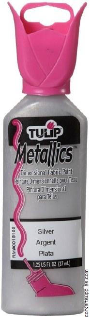 Tulip 3D Metallic Silver