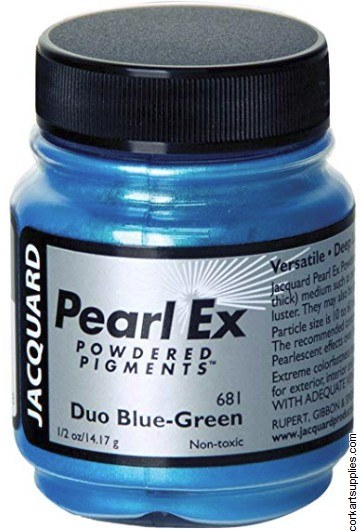 Pearl Ex Pigment 14g Duo Blue-Green
