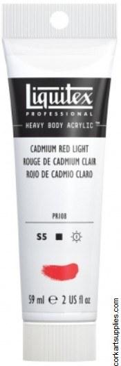 Liquitex 59ml Cadmium Red Light Series 5