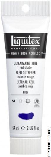 Liquitex 59ml French Ultramarine Blue Series 2