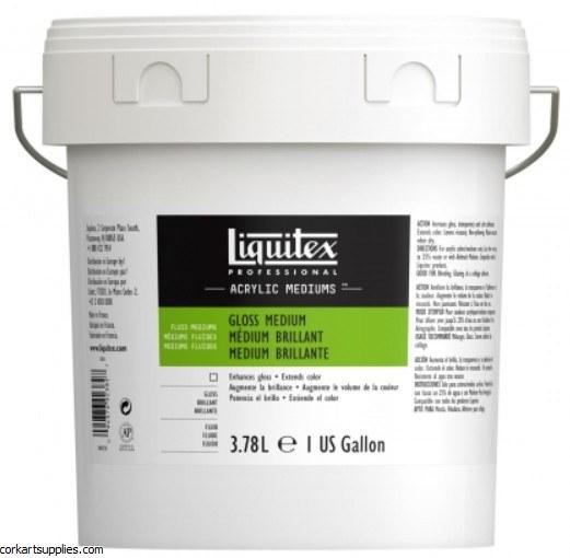 Liquitex Gloss Medium & Varnish 1 Gallon