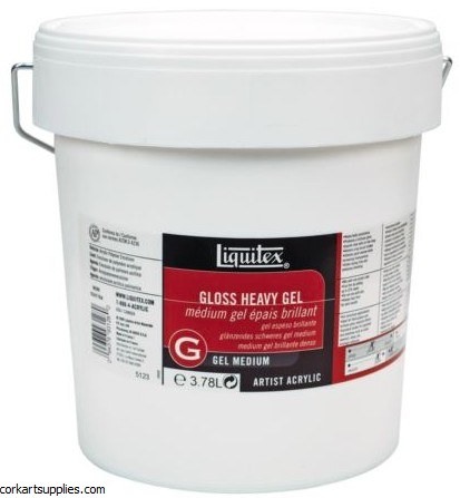 Liquitex Gloss Heavy Gel Med Gallon