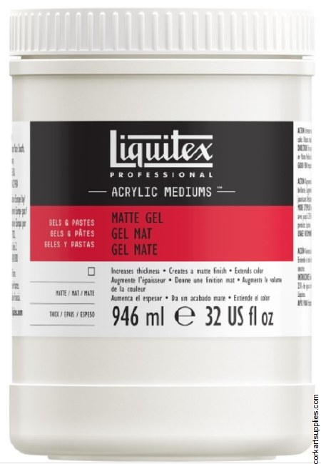 Liquitex 946ml Matt Gel Med