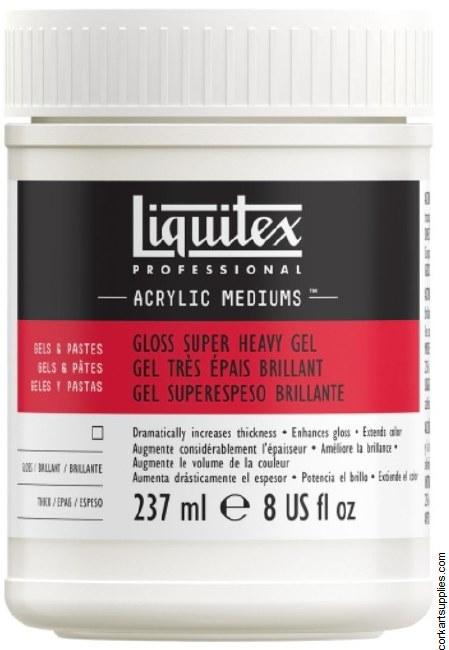 Liquitex Gloss Super Heavy Gel Med 237ml