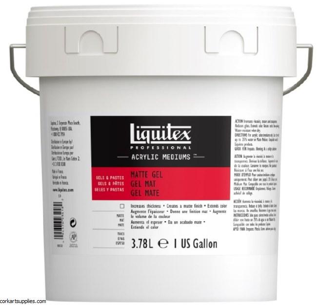 Liquitex 1 Gallon Matt Gel Med