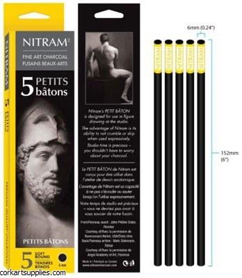 Nitram Batons Petits 6mm 5pk