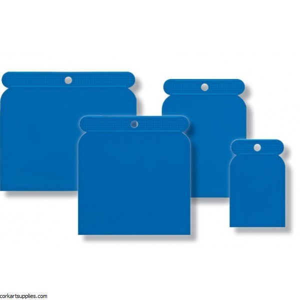 Scraper Plastic Asst Sizes 4pk