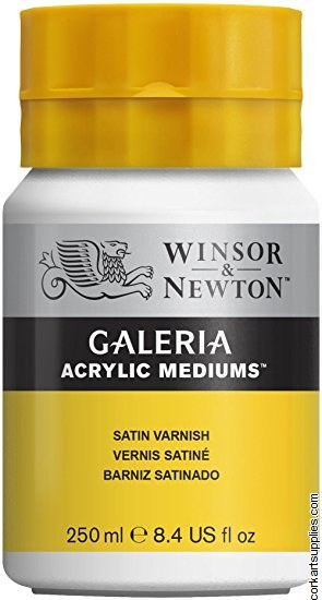 Galeria Acrylic Satin Varnish 250ml