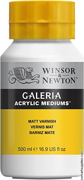 Galeria Acrylic Matt Varnish 500ml