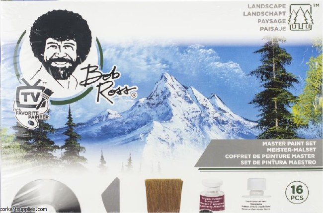 Bob Ross Master Set 16 Piece Set