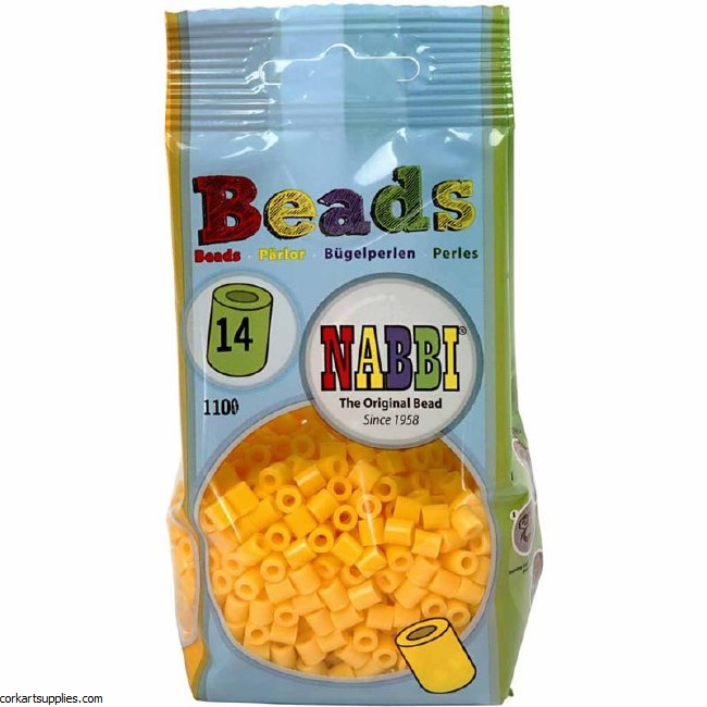 Fuse Beads 5mm 1100pk Yellow