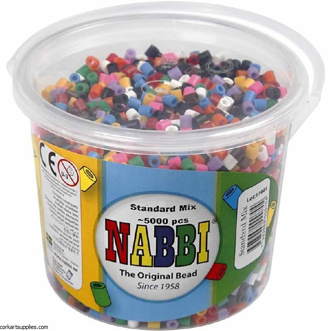 Fuse Beads 5mm Bold 5,000pk