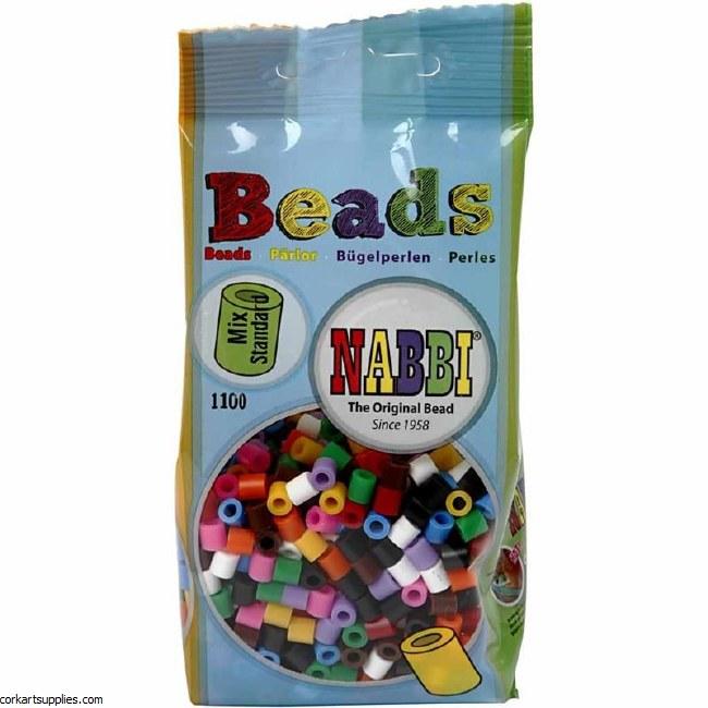 Fuse Beads 5mm 1100pk Asst