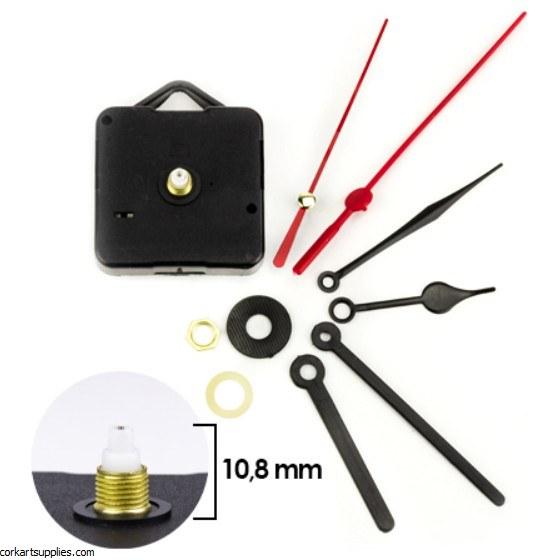Clock Movement Quartz 11mm With 6 Hands