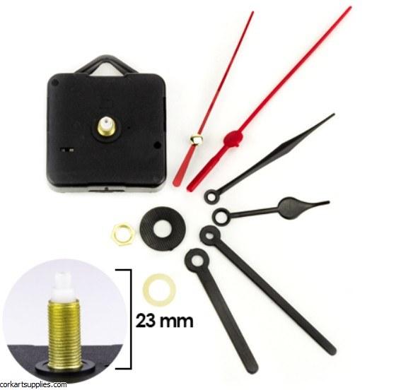Clock Movement Quartz 23mm With 6 Hands