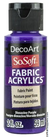DecoArt SoSoft 59ml Purple Dioxazine