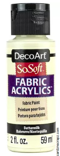 DecoArt SoSoft 59ml Buttermilk