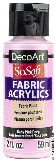 DecoArt SoSoft 59ml Pink Baby