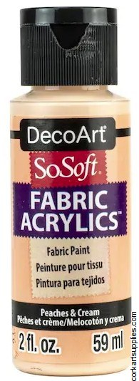 DecoArt SoSoft 59ml Peach Cream