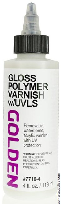 Golden Polymer Gloss Varn UV